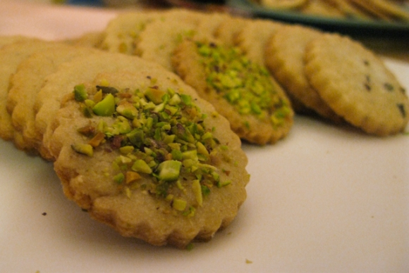 Pistachio Shortbread Cookies | The Fig and Thistle